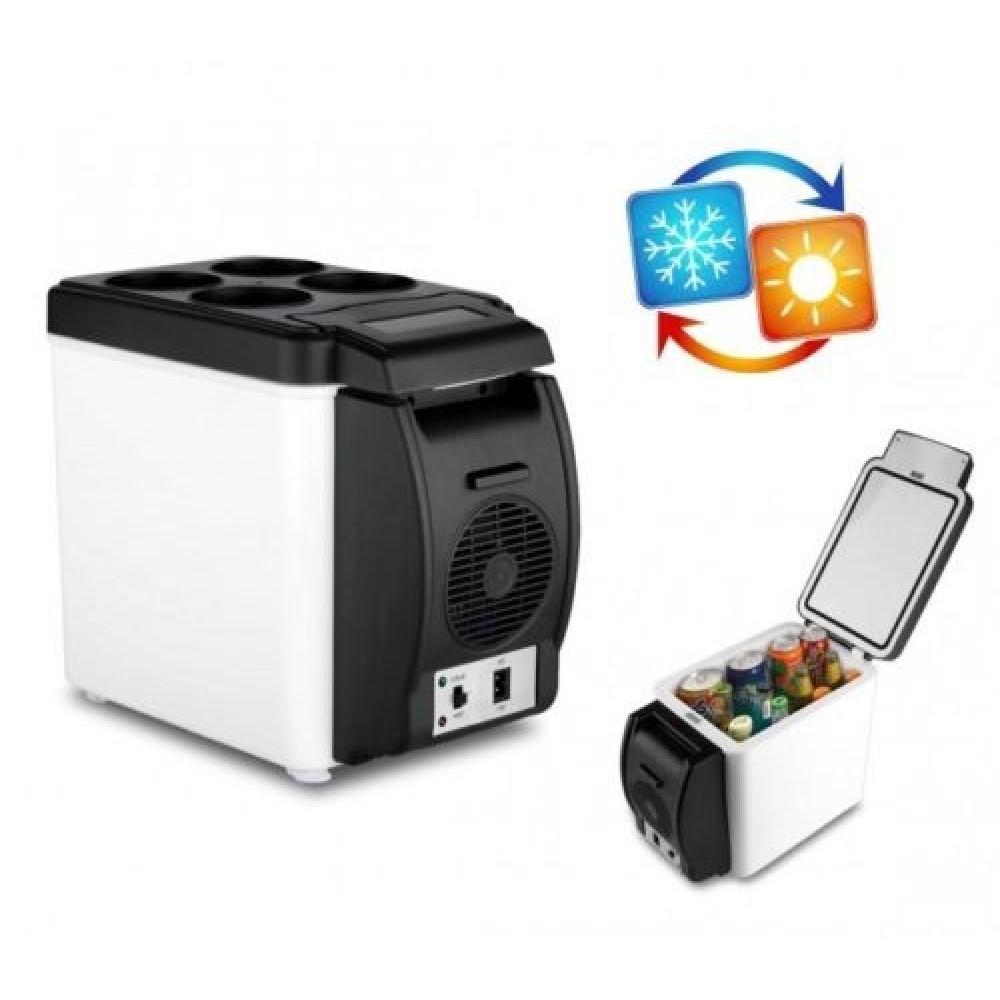 Frigo portatile per auto 2 in 1 caldo e freddo 6 litri alimentazione 12 V