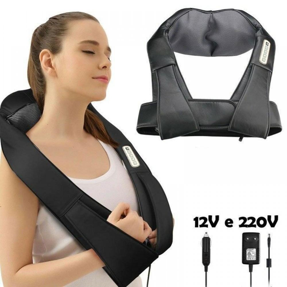 Kiki massaggiatore elettronico collo spalle e schiena cervicale