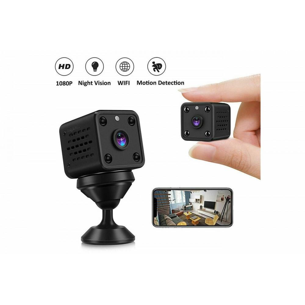 Mini telecamera nascosta spia wifi 1080p hd visione notturna 110-d